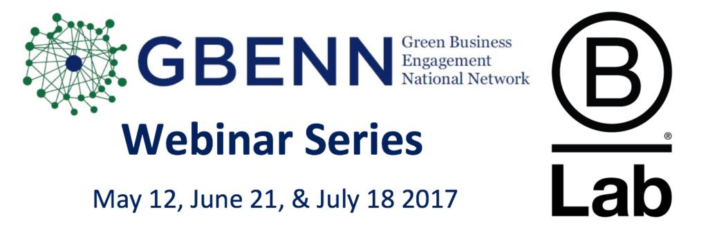 NEW GBENN B Lab Webinar logo